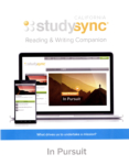 California studysync - Reading & Writing Companion: In Pursuit (click for larger picture)